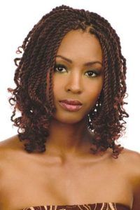 Reddish Brown Kinky Twists
