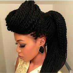 Senegalese twists