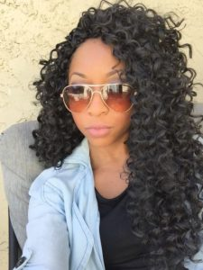 Crochet Braids With Long Curls