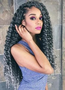 Long Grey Crochet Braids