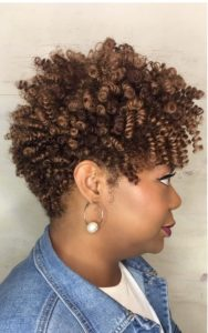 Short Tapered Crochet Braids