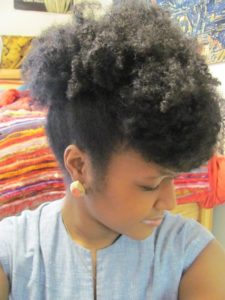frohawk with pompadour bangs