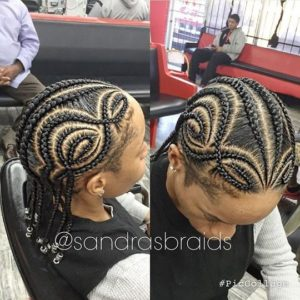 iverson braids with beads