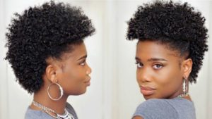 short tapered frohawk