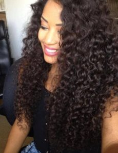 Curly Indian Remy Sew In
