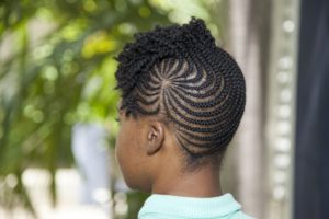 Iverson Braids With Curly Bangs