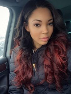 Ombre Red Remy