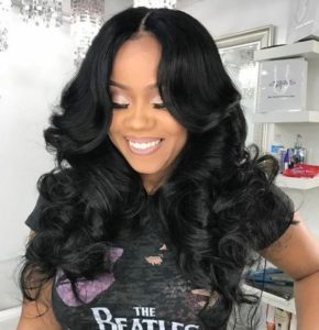 Remy Sew In With Middle Part