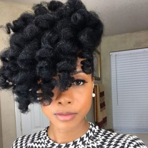 Twist Out Pineapple
