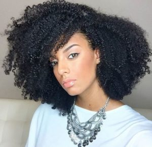 Wash And Go With Side Part