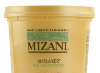 mizani relaxer color treated