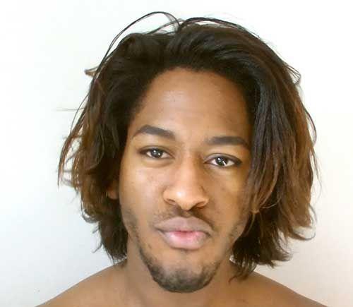 relaxed hair man