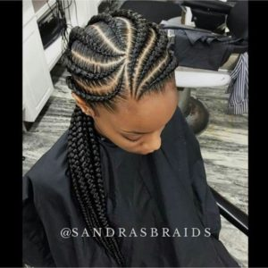 Feed In Braids With Curved Parts