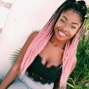 Pink Ombre Box Braids