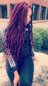 Red Box Braids