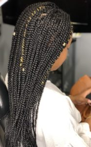 box braid maintainance