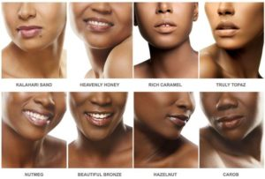 black opal foundation swatches