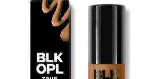 black opal liquid foundation truly topaz