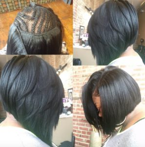sew in bob installation