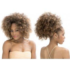 half wig updo