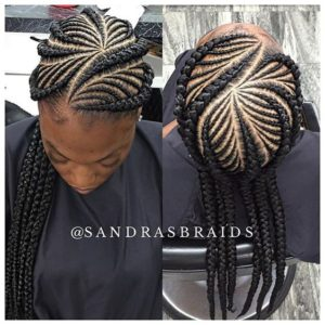 Fishbone Feed-In Braids