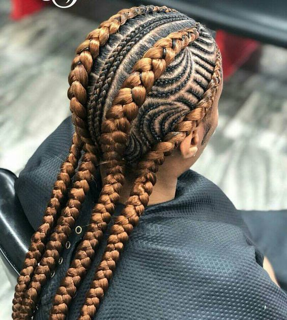 Fishbone Braids Hairstyles