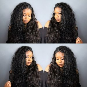 how to flip over sew in weave