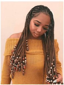 Beaded Lemonade Braids