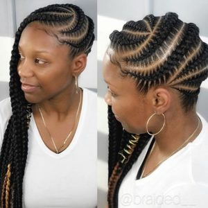 Medium-Sized Lemonade Braids