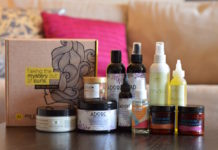 Natural Hair Subscription Box