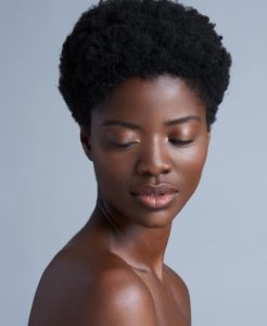 Simple Natural Hairstyle