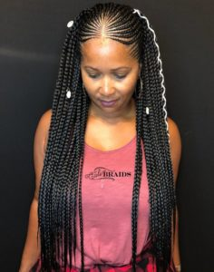 Tribal Braids With Cowrie Shells
