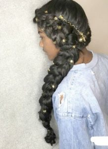 Bejeweled Butterfly Braids