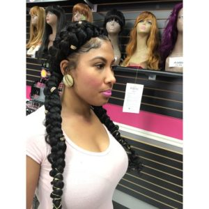 Butterfly Braids Pigtails