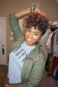 Tapered Brown Crochet Curls