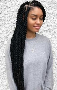 Marley Twists With Triangle Parts