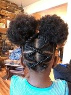 Double Buns With Twists