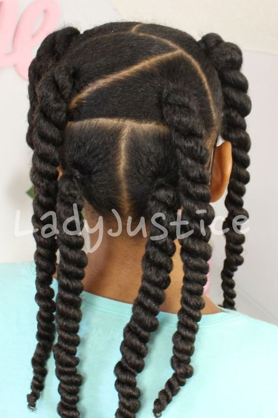 Two Strand Twists With Asymmetrical Parts