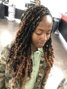 Blonde Ombre Passion Twists
