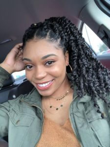 Chunky Passion Twists High Ponytail