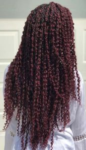 Long Red Passion Twists