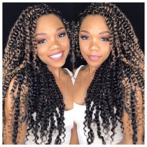 Reverse Ombre Passion Twists