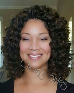 Invisible Braids With Bouncy Curls