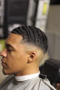 Low Fade With Thick Waves