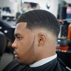 Mid Fade With Waves