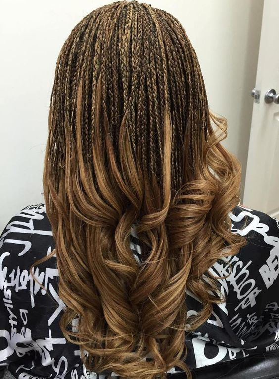 Two-Toned Invisible Braids