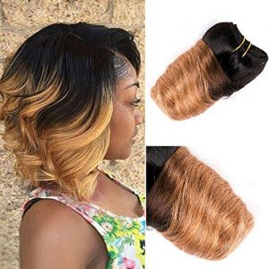 Blonde Ombre Stacked Bob