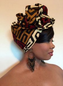 Chic Patterned Head Wrap