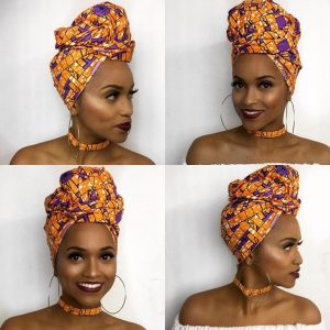 Colorful Head Wrap