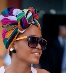 Colorful Twisted Head Wrap